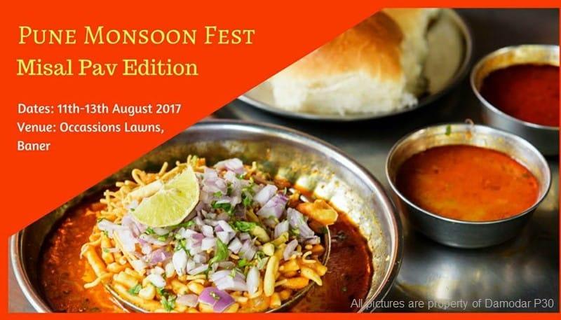 Misal Pav Festival - Pune Aug 2017