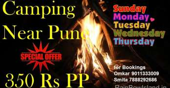 Camping Festival near Pune in 350 Rs only