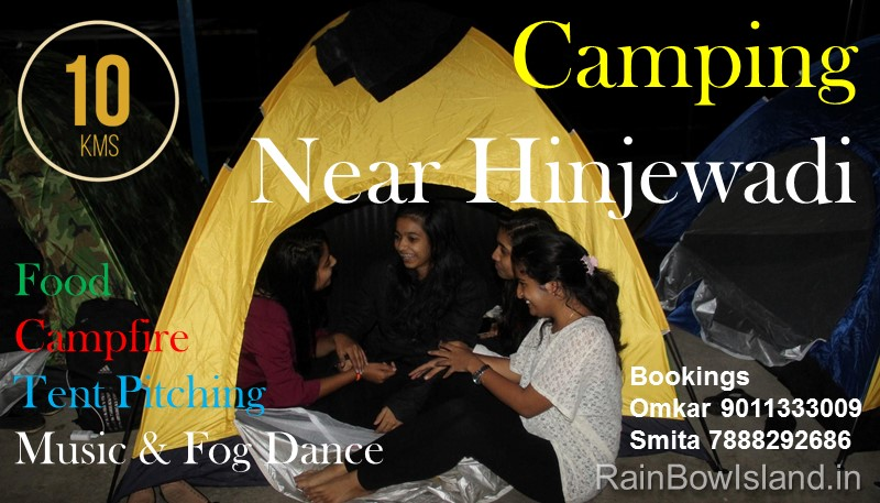 Camping Festival near Pune in 1100 Rs only