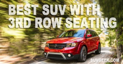Read more about the article Best SUV With 3rd Row Seating (2021)
