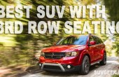 Best SUV With 3rd Row Seating - Top 5 Full-Size SUVs 2020