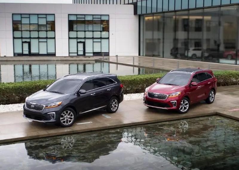Upcoming Kia Sorento - Best 6 Passenger SUVs 2020