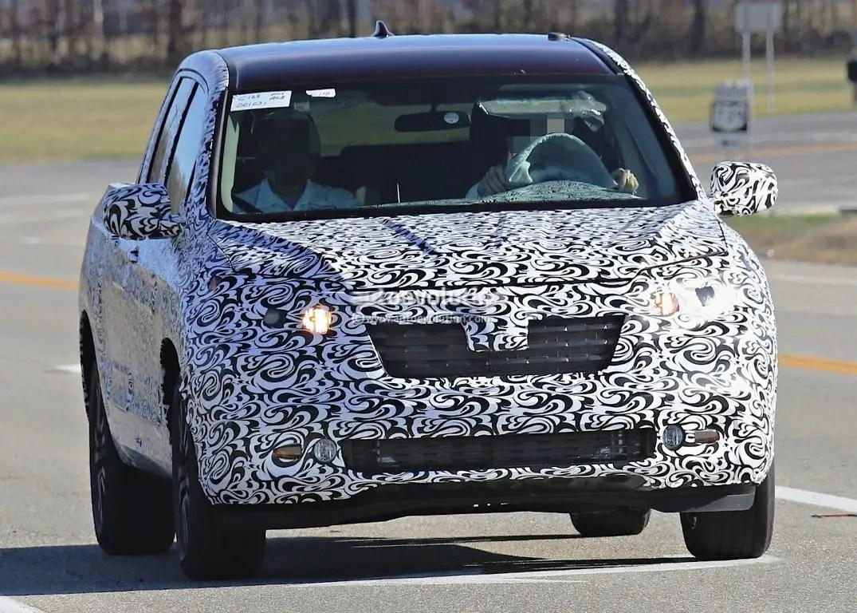2020 Honda Ridgeline Type R Spied Pictures