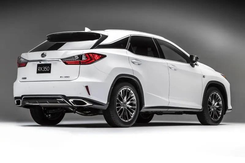 2020 Lexus RX 350 Dimensions & Tire Size