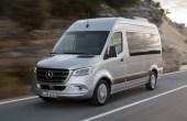 2020 Mercedes Sprinter Electric Van Passenger