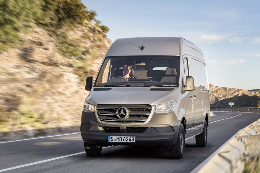 2020 Mercedes Sprinter Van Price & Lease