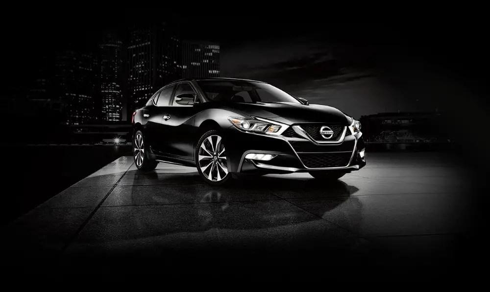 2020 Nissan Maxima Black Colors Special Editions