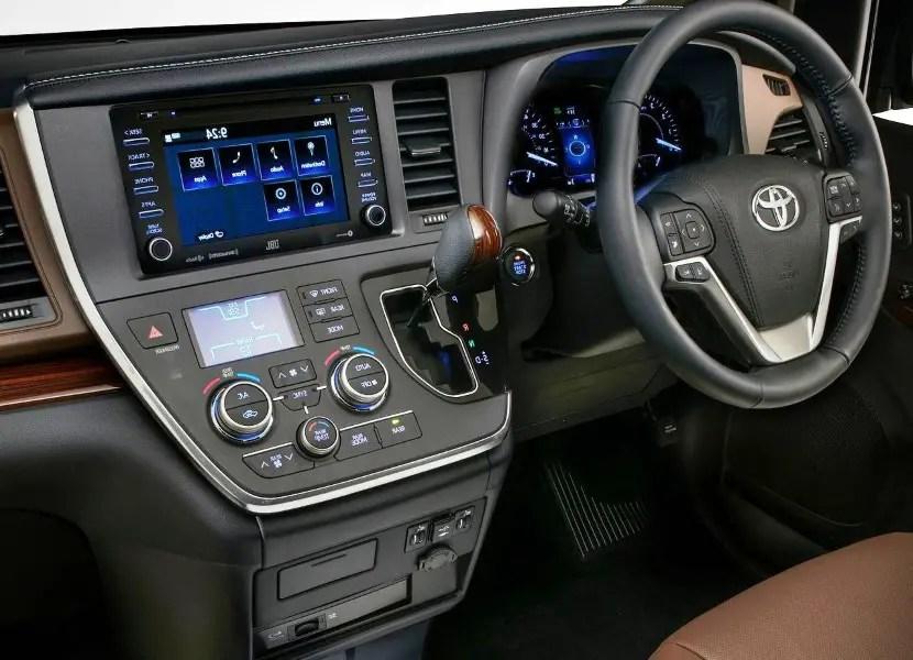 2020 Toyota Sienna Interior Features