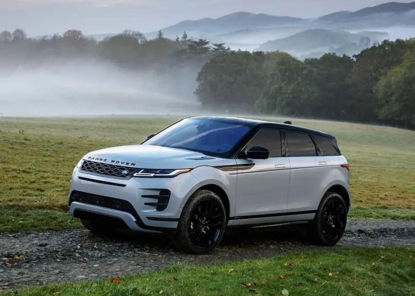 2020 Range Rover Evoque Dimensions
