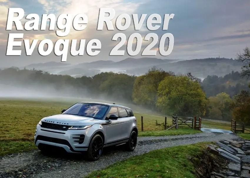 2020 Range Rover Evoque Release Date & Price