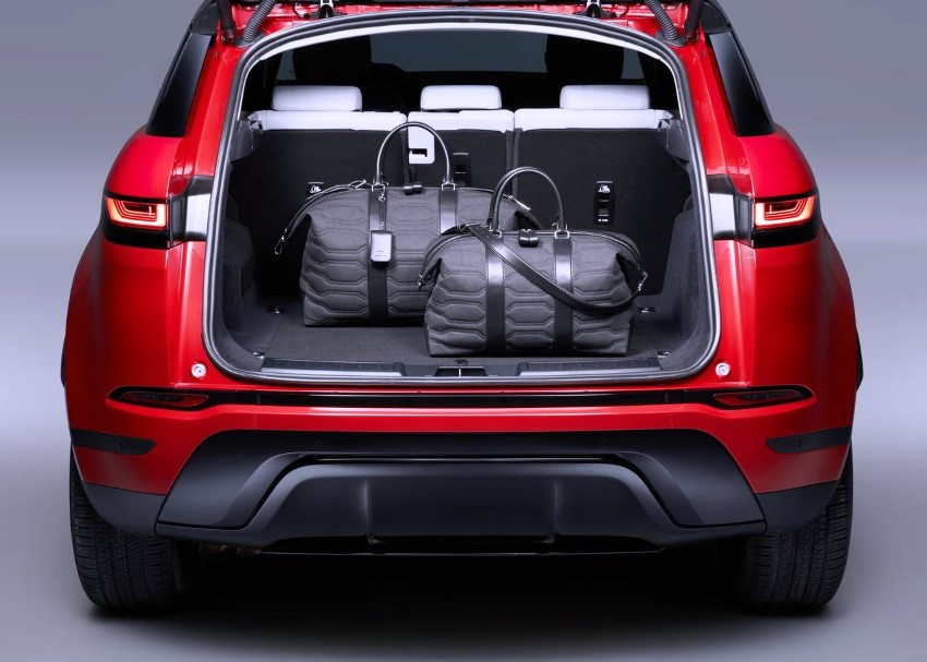 2020 Range Rover Evoque Trunk Volume