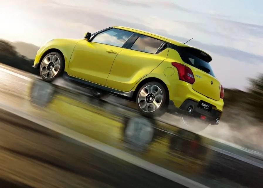 2020 Suzuki Swift Sport Decals