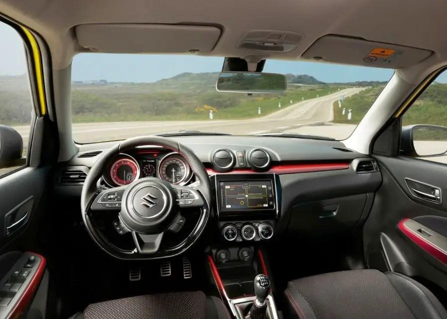 2020 Suzuki Swift Sport Interior & Features