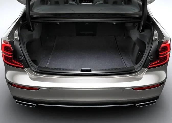 2020 Volvo S60 Trunk Capacity