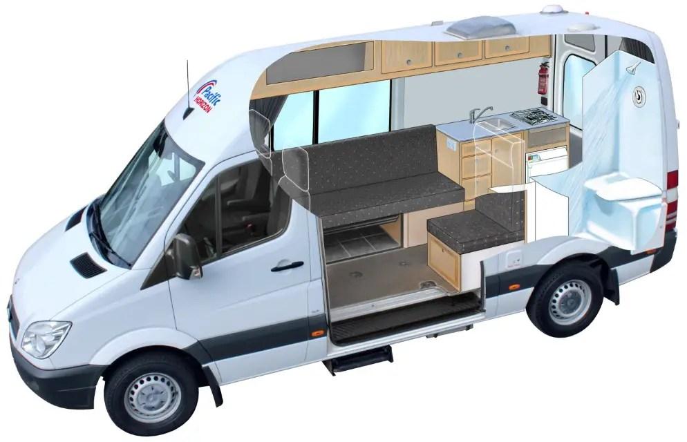 Ford Transit Van Camper Conversion Ideas