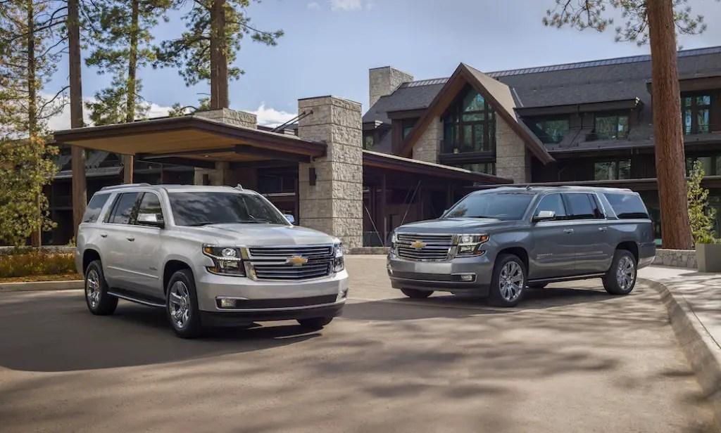 2020 Chevrolet Suburban - Best SUVs For 3 Car Seat