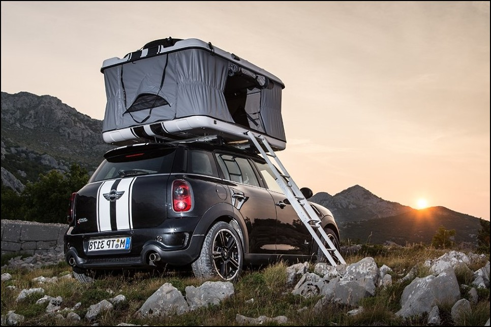 New MINI Countryman Camper - Best Glamping Vehicle