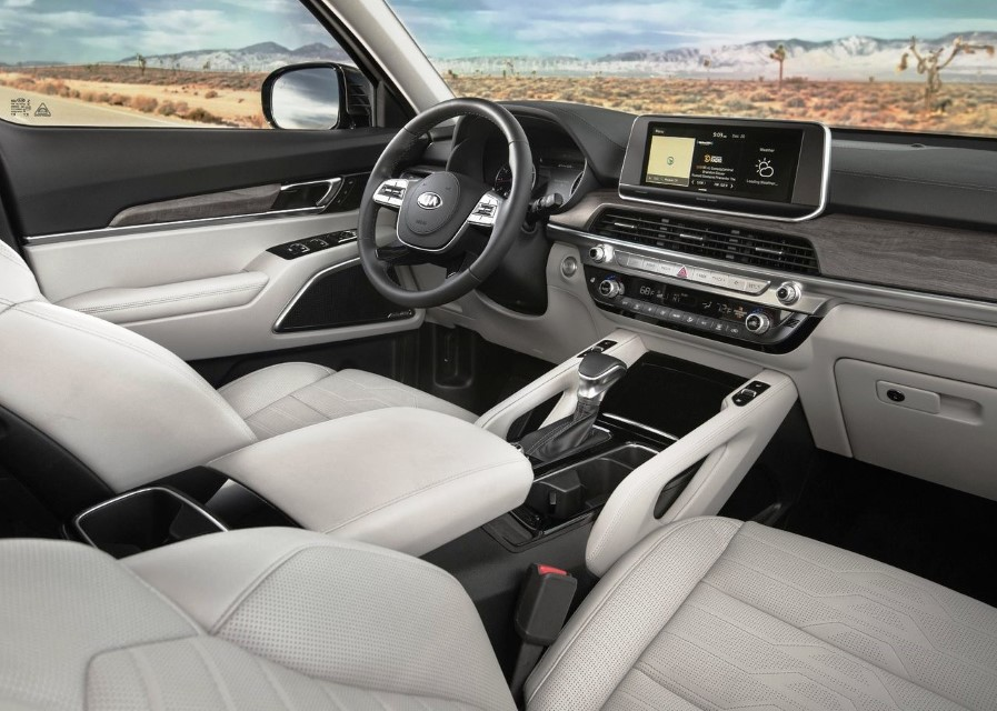 2020 KIA Telluride Interior - Features and Equipment