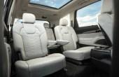 2020 KIA Telluride Seat Capacity & Dimensions
