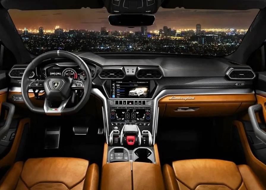 2020 Lamborghini Urus Interior