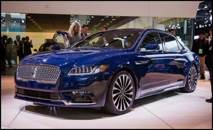 2020 Lincoln Continental Engine Specs & Fuel Economy