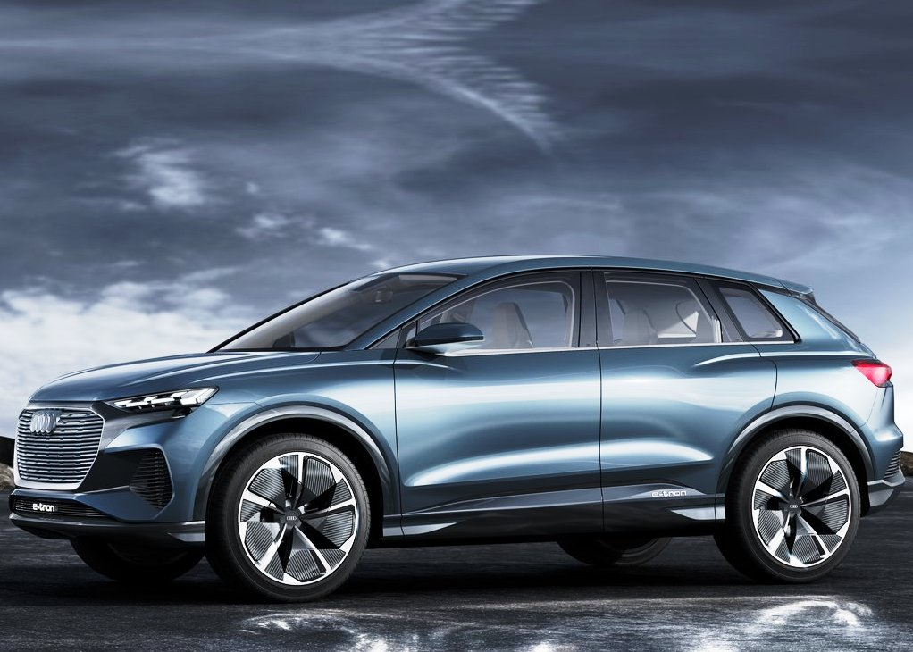 2020 Audi Q4 E-Tron Concept