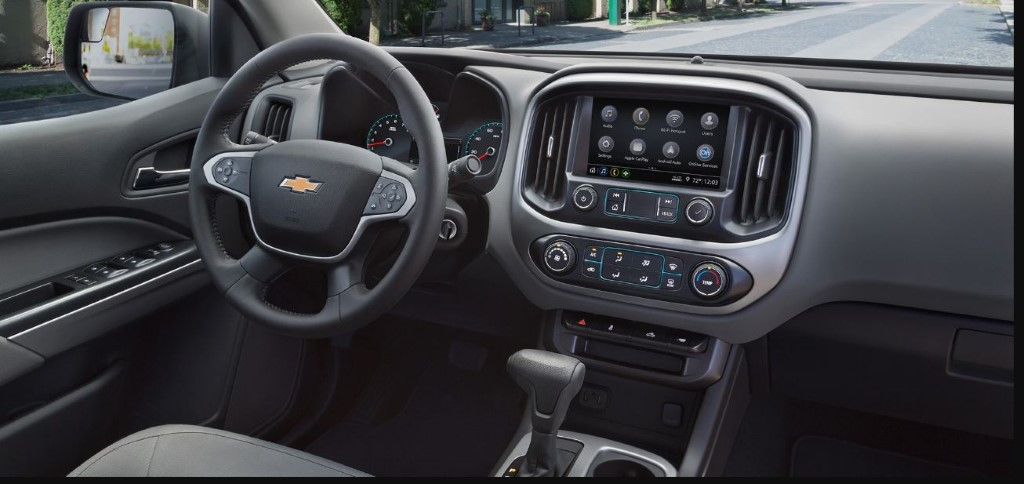 2020 Chevy Colorado Interior & Accessories