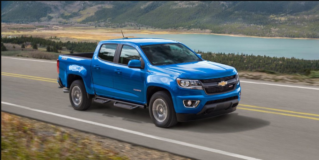 2020 Chevy Colorado Z71 Colors Options