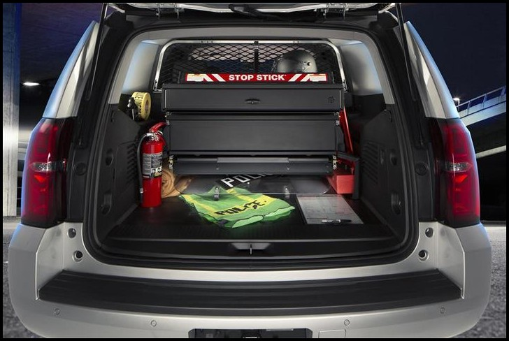 2020 Chevy Tahoe Trunk Space & Towing Capacity