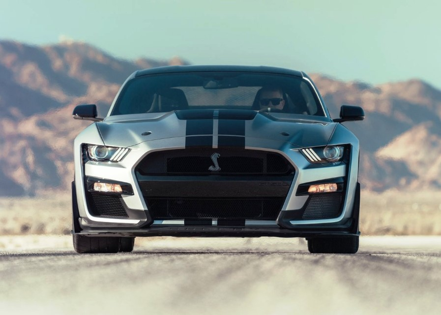 2020 Ford Mustang Shelby GT500 Hybrid Engine