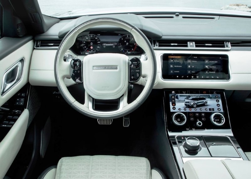 2020 Range Rover Velar SVR Interior Features