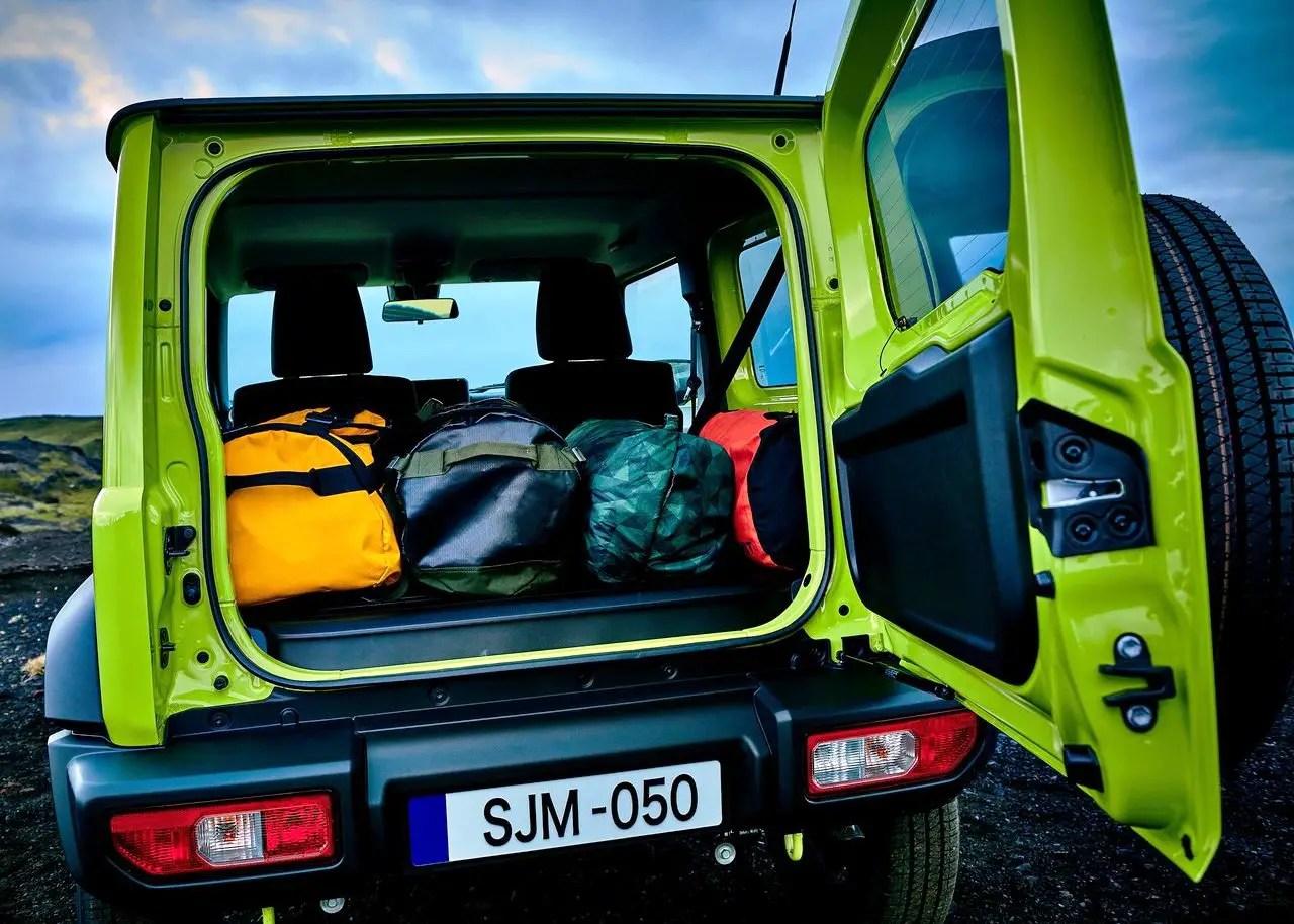 2020 Suzuki Jimny Trunk Capacity
