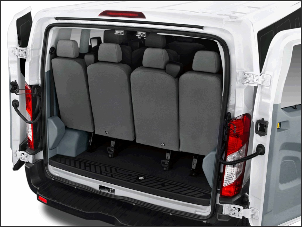 2019 ford transit 15 passenger review specs trunk space mpg findtruecar com 2019 ford transit 15 passenger review