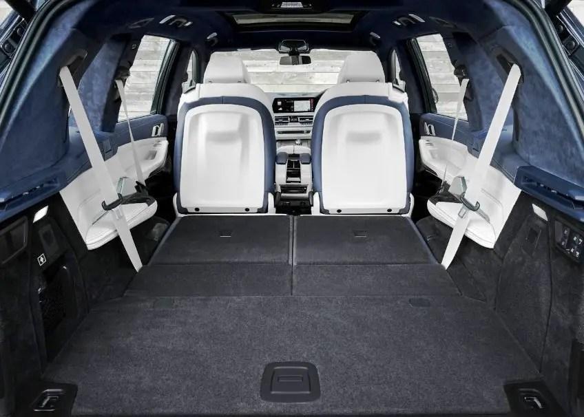 2020 BMW X7 Trunk Capacity