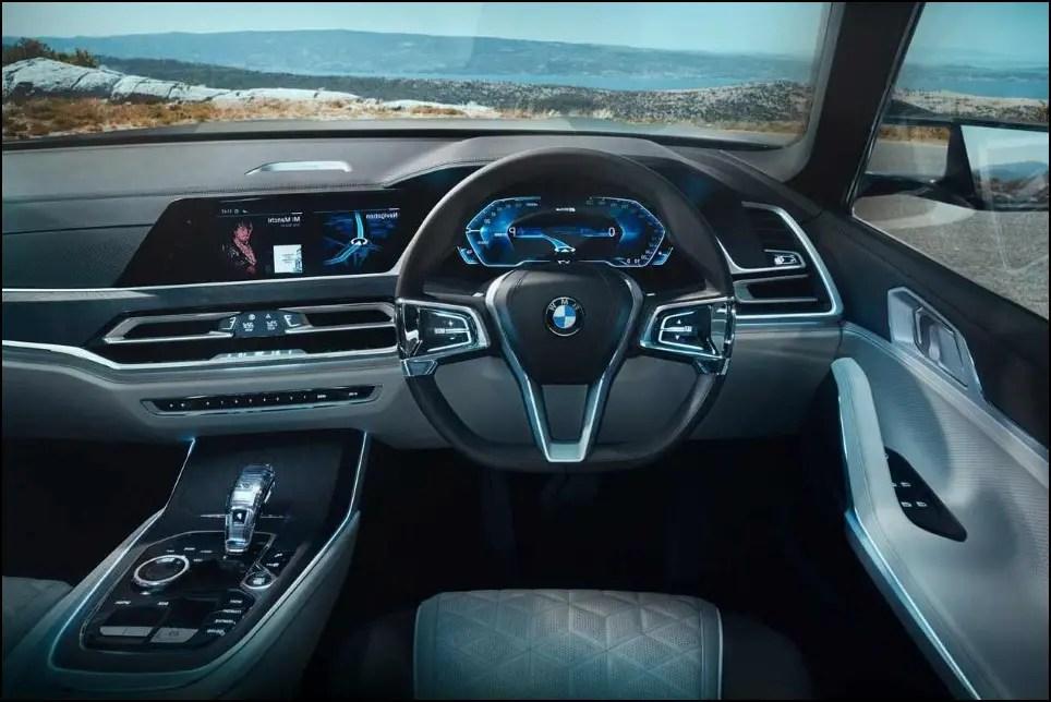 2020 BMW X8 Interior Features