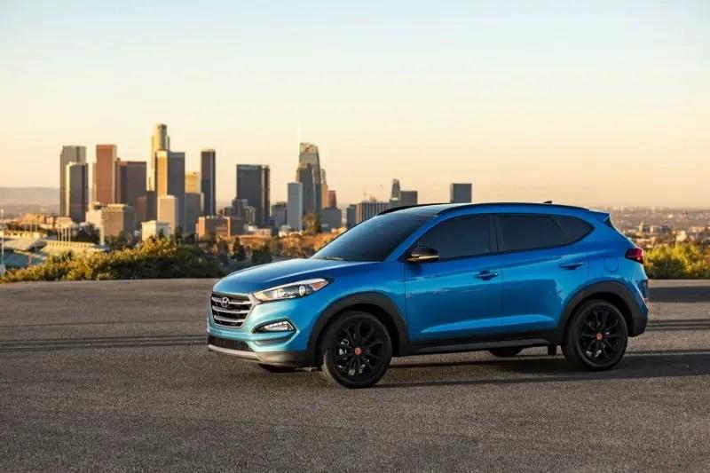 2020 Hyundai Tucson Dimensions SUV