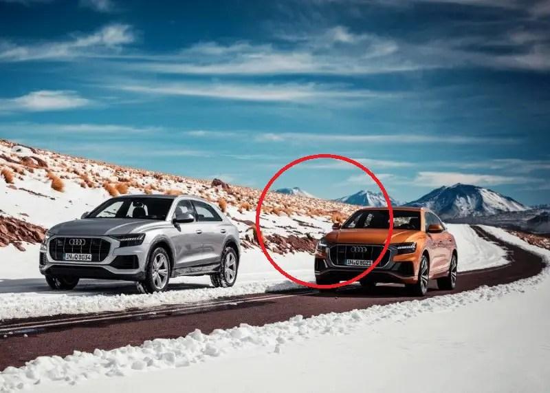 New Audi Q8 SUV VS BMW X5