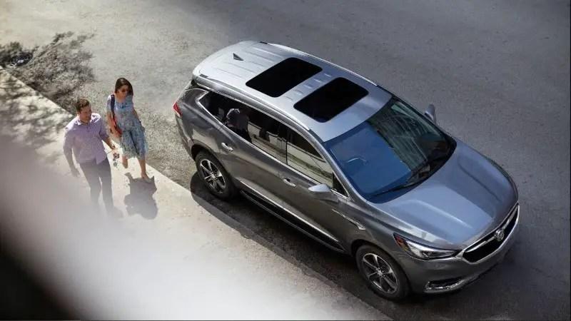 2020 Buick Enclave Best MPV Images