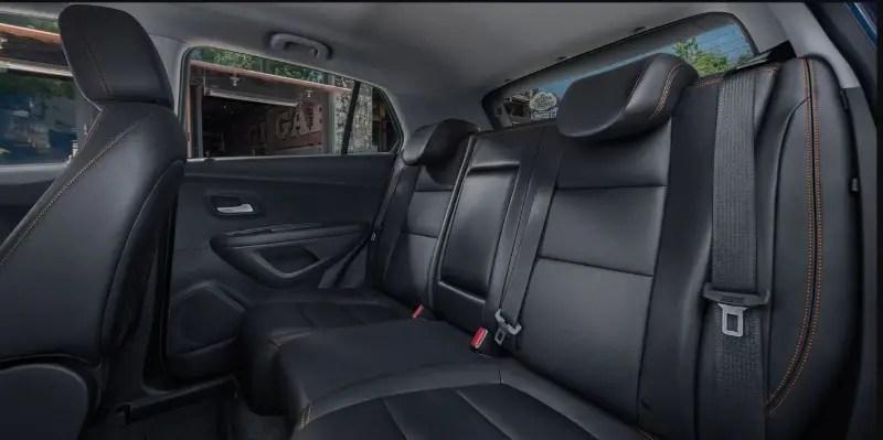 2020 Chevy Trax Seat capacity 2 Row SUV