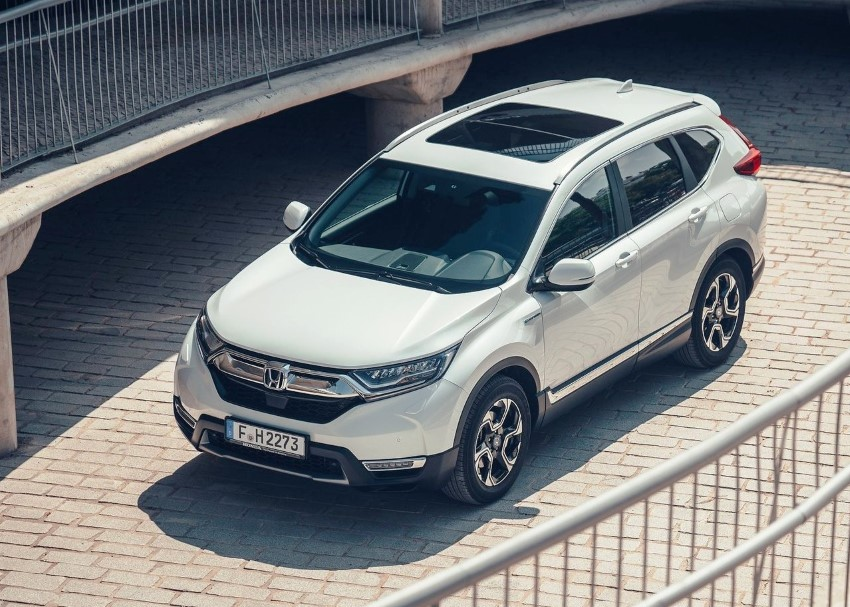2020 Honda CR-V Hybrid Plug-in MPG