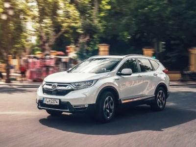 2020 Honda CR-V Hybrid USA Price & Equipment