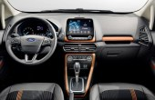 2020 Ford EcoSport Interior New Features