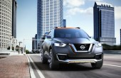 2020 Nissan Kicks Front Angle New Headlamps