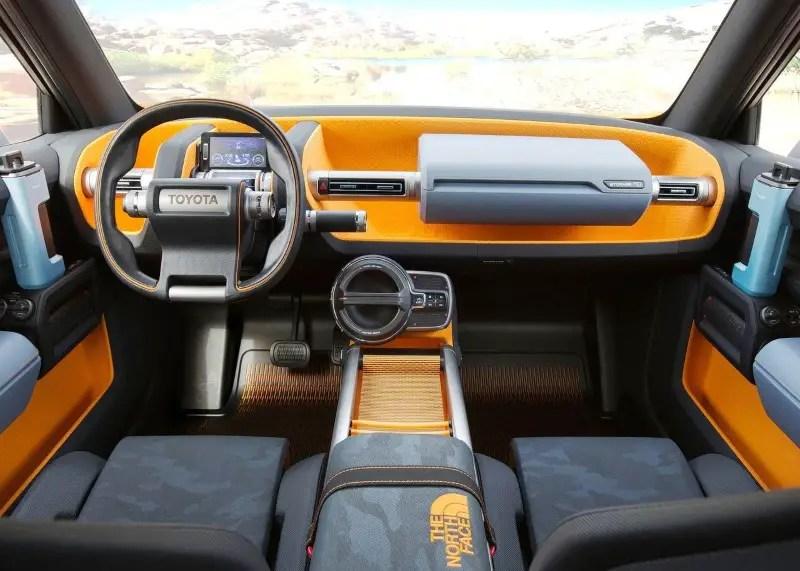 2020 Toyota FJ-Cruiser Interior Dashboard Images