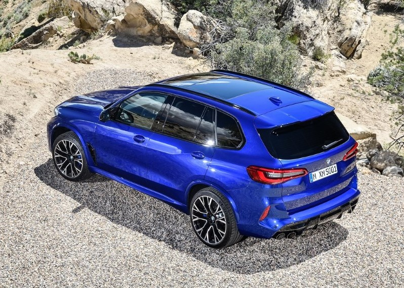 2020 BMW X5 M Competition V8 Engine Performance