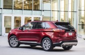 2020 Ford Edge Red Color Titanium Pricing