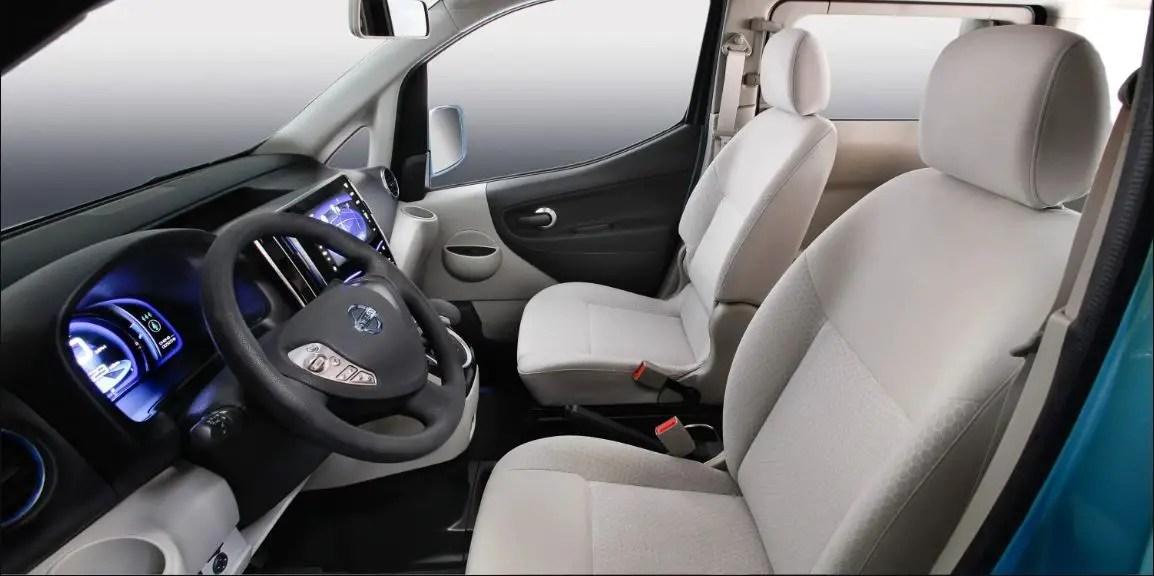 2020 Nissan E-NV200 Interior