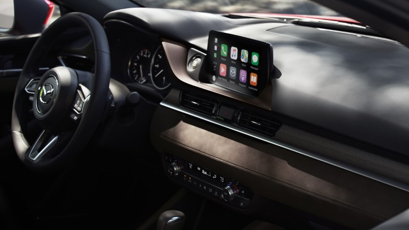 2021 Mazda 6 Interior with Apple Carplay and Android Auto