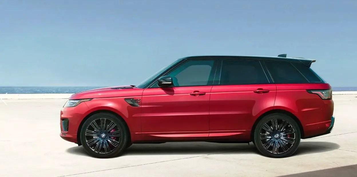 2021 Range Rover Sport Dimensions