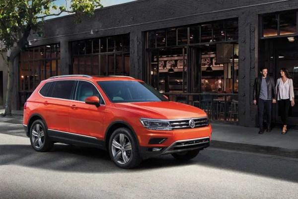 2021 VW Tiguan SUV Review